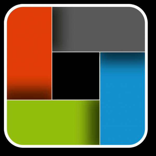 clara application square coloured logo