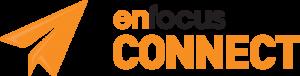 enfocus connect orange paper aeroplane logo