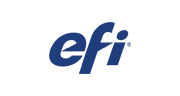 efi logo blue on white background