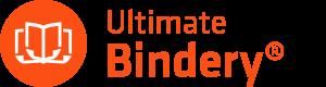 ultimate binder orange logo with white book