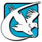 markzware flightcheck blue box logo with bird
